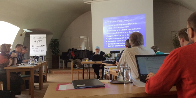 Fr. Paul Hannon represented PISAI at Journées d'Arras, a meeting bringing together Christians of various denominations from many parts of Europe