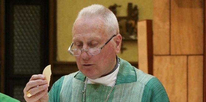 On the occasion of the twenty-fifth Anniversary of his Episcopal Ordination, Mgr. Michael L. Fitzgerald celebrated a Mass of Thanksgiving
