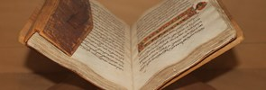 Currently the Library holds about 40,000 volumes, half of which are in Arabic, 900 journals, 250 of which rare or extinct, 30 fine editions, and 30 Arabic manuscripts kept at the Vatican Library.