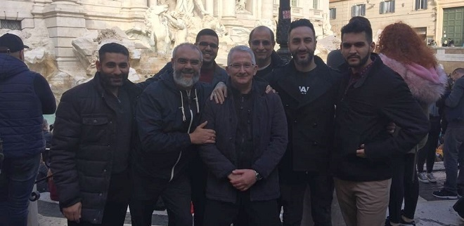 On Saturday 1 December, a group of Shi'i Muslims from the Hyderi Islamic Centre in London paid a short visit to Rome and to the PISAI