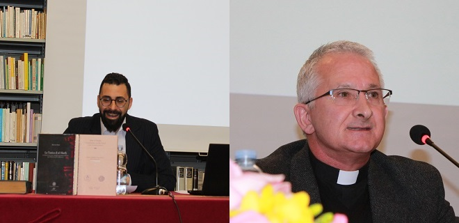 On Friday 29th April, two professors of PISAI, Bishara Ebeid and Christopher Clohessy, presented the four books which, between them, they have published recently.