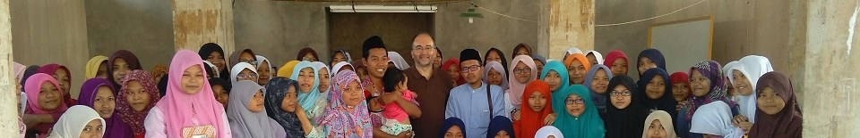 Prof. Adnane Mokrani in Indonesia