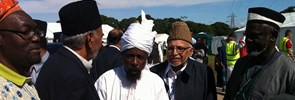 Prof. Francesco Zannini attended to the International Yearly Meeting (49th Jalsa Salana) of the Ahmadiyya