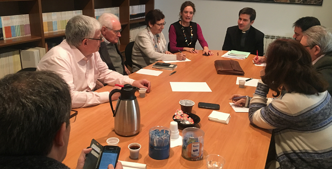 On 14 March 2019 Diego Sarrió Cucarella participated in a session on Pope Francis and Muslim-Christian relations at the Blanquerna-Universitat Ramon Llull