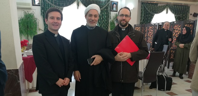 "Diego Sarrió Cucarella participated as a speaker in the XI Colloquium on the theme ""Muslims and Christians: Serving Humanity Together"", in Iran"