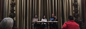 "Jason Welle, Director of Studies at PISAI, recently participated in an interreligious panel discussion entitled ""Beyond Damietta"" at the Centro Pro Unione in Rome"