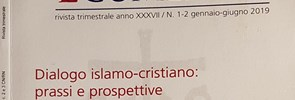 In issue 1-2 / 2019 of the journal Studi Ecumenici, entitled 'Dialogo islamo-cristiano: prassi e prospettive' there is an interesting contribution by Valentino Cottini