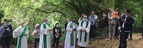The traditional Islamic-Christian pilgrimage Pardon des Sept-Saints was held in Le Vieux-Marché, in French Brittany, from 25 to 26 July 2020.