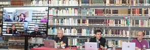 Wednesday 16 September 2020 Fr. John P. Mallare, a student at PISAI, defended his doctoral thesis in the Maurice Borrmans Library.