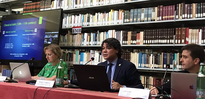 "On Friday 25 September 2020 an event entitled ""Interpretation of Religious Texts and Freedom of Religion or Belief"" was held at the Library of PISAI"